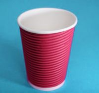 Two wall paper cups