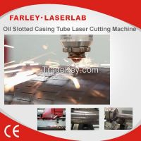 high intensity oil slotted casing pipe laser cutting machine