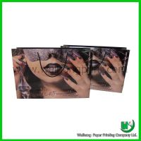 luxurious cosmetic paper bags