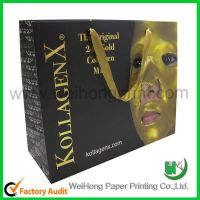 Customized printing cosmetic paper bag