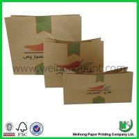 brown kraft paper bags for food
