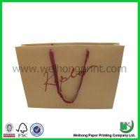 brown kraft paper bags with handle