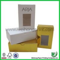 Paper bag for cakes packaging