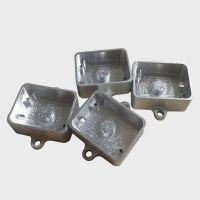Aluminum cnc machining box for outdoor light fixtures