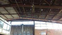 Factory hangar & machine scrap