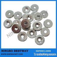 N35 D8x(6-3.5)x3mm Neodymium Countersunk Magnet