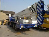 Sell used TADANO 55ton truck crane, second hand mobile crane for sale