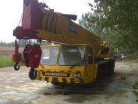 Sell used Kato 50ton truck crane, second hand mobile crane for sale