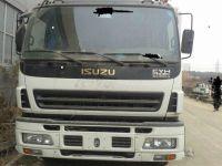 Sell Used Isuzu concrete pump, pumper truck