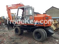 Sell used Hitachi  excavator EX100wd for sale