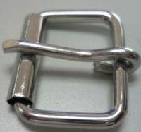 Nickel Plated Steel Single Prong Roller Buckle