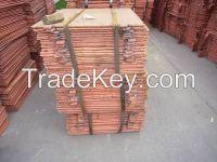copper cathode for export