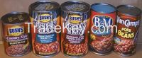 Canned products for exports