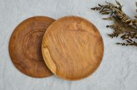 Wooden Dessert Plates with Premium Quality and Best Seller From Indonesia
