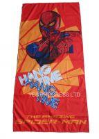 spider-man printing beach towel in microfiber(yes-022)