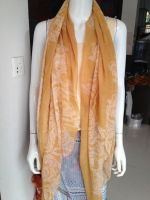 fashion flora printed voile scarves