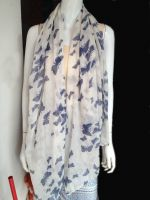 fashion flora printed voile stock scarves