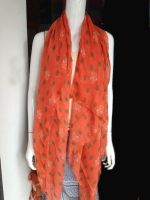 stock voile scarf in big sale