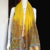 stock scarf in 100% voile