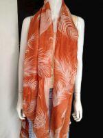 100% floral printed voile scarf in big sale