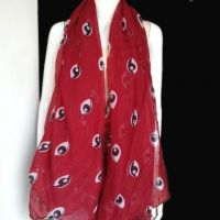 neck voile scarf
