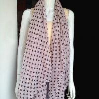 dot printed scarf in cheap price