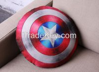Painting pillow with the film color! Captain American is coming back!