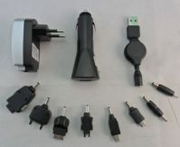 3IN1 USB CAR CHARGER SET
