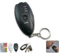 LED keychain breathalyzer