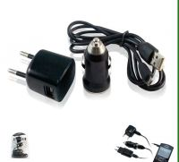 Portable Charger 3 in 1 Car Charger With USB