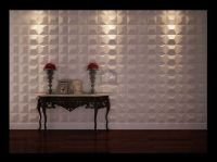 3D leather tiles for hotel