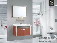Modern Stainless Steel bathroom cabinet[J-8618]