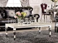 Luxury Glass Home & Hotel End Table (CJ-9013)