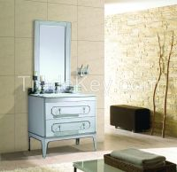 Modern Deluxe Stainless Steel Hotel bathroom furniture [A-6805]