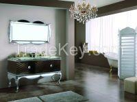 Modern Villas Stainless Steel Hotel bathroom Cabinet [A-6803]