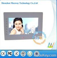 Front buttons 7 inch HD video input digital frame