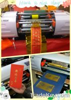 Digital offset printing machine, hot foil stamping printer