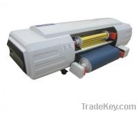 Roll materials foil printer, coil printing hot stamping
