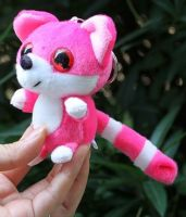 Sell Plush Promotion Racoon Keychain