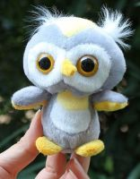 Sell plush promotion owl keychain