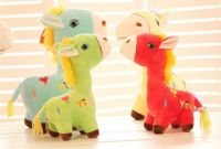 Sell plush animal horse toy