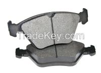 Low-metallic/semi-metallic/ceramic/heavy-duty disc brake pad