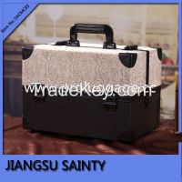 Gorgeous lace surface large makeup cases for canada