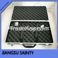 Simple style black tool cases portable aluminium tool boxes
