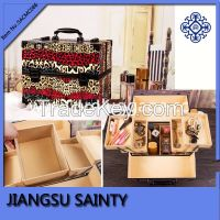 2015 new product beauty professional makeup train case