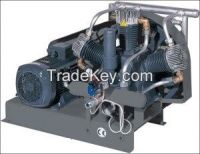 High pressure piston compressor