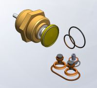 Air compressor komsan min pressure valve repair set kit Ekomak YRD000114 MKN06002 MKN00945 2110957 MKN007443 MKN00598 7392666  10287570 MKN005705 MKN004964 MKN004962 201903 MKN004963 MKN004963 MKN004379 / 2KSK-080 MKN003543