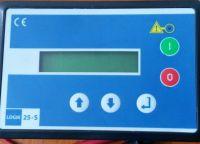 Air compressor komsan dalgakiran ekomak ozen controller plc logik 25-s