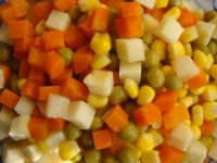 Sell canned mixed vegetables