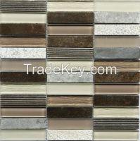 Italian Grey Marble Mosaic